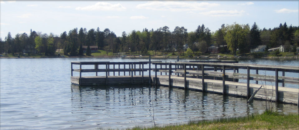 There's a nice public dock and great public access just 2 miles from the cabin.